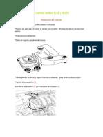 Correas Motor K4J y K4M