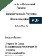 Bases Conceptuales de La Administración de Proyectos