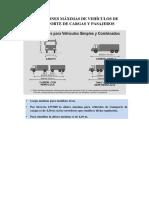 Dimensiones y Pesos Máximos de Vehículos de Transporte DNT