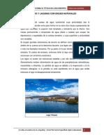 Desagües de Lagos y Lagunas Con Diques Naturales (1) Claudia