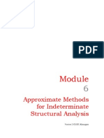 Approximate Methods for Indeterminate Structural Analysis