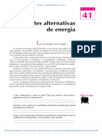 41 Fontes Alternativas de Energia
