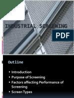 Industrial Screening