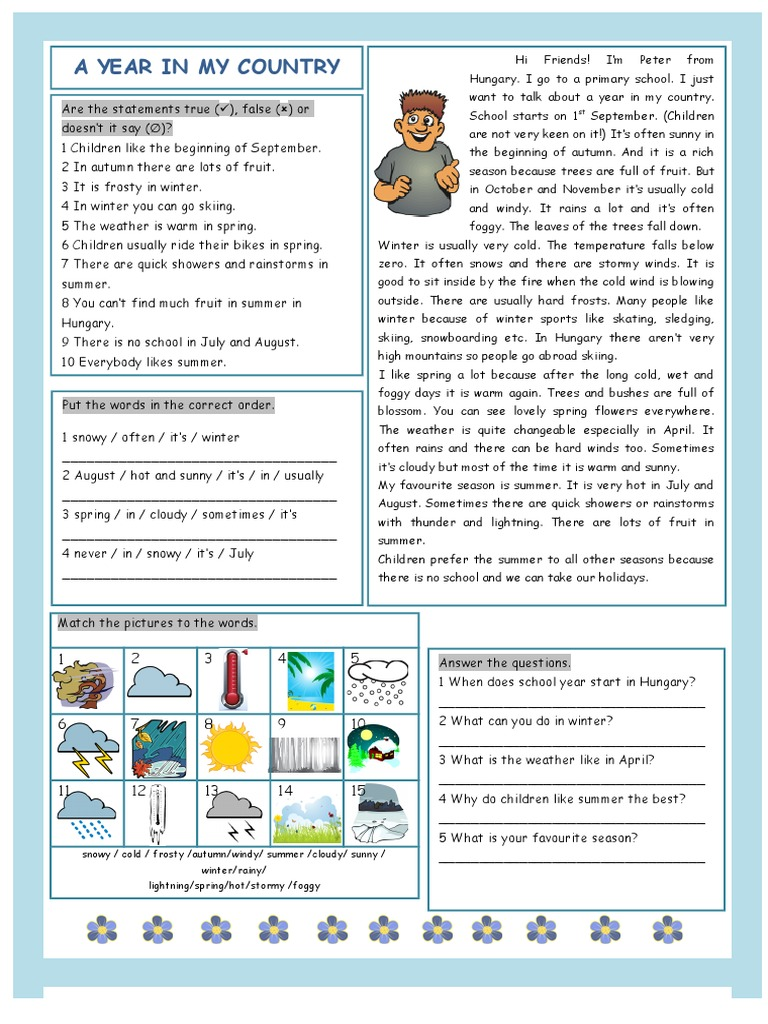20163_a_year_in_my_country_weather (1) doc | Rain | Meteorology