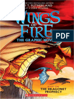 Wings of Fire Graphic Novel #1: The Dragonet Prophecy by Tui T. Sutherland, illustrated by Mike Holmes (Excerpt)