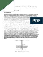 El Método de Fracturación Hidráulica de Medición Del Estrés
