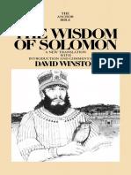 [David Winston] the Wisdom of Solomon