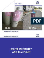 Water Chemistry & DM Plant Rev00