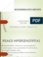 anafilaktik