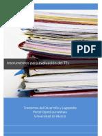 Instrumentos de Evaluacion TEL