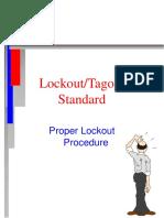 Lockout Tagout score