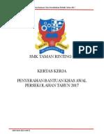 Kertas Kerja Majlis Bantuan RM100 2015