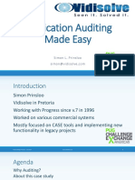 213 - Application Auditing Made Easy