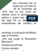 La RRevolución Mexicana