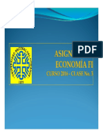 Economía - Clase 3