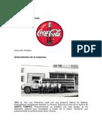 Trabajo de Calidad en Coca Cola