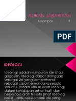 ALIRAN JABARIYAH