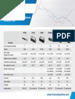 Comparision Table Temperature Humidity Sensors Teracom r1.1