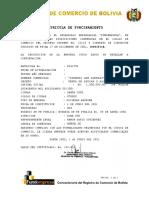 Registro de Comercio de Bolivia