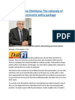 Coomaraswamy Chinthana  The rationale of the country's economic policy package.docx
