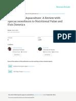 MicroalgaeinAquaculture Review