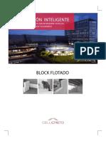 Folleto - Muro Flotado Con Block