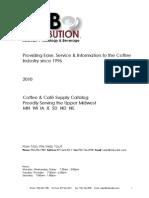 IMB Distribution Catalog