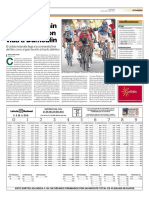 Ciclismo Giro Lxvi