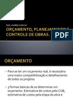 oramentoplanejamentoecontroledeobras-130514220108-phpapp02
