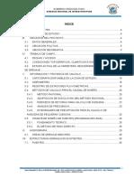 Estudio Hidrològico e Hidráulico - Nuñoa Macusani