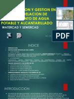 Gestion en Diseño de Abastecimiento de Agua Potable