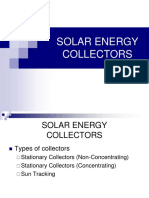 262313372 Solar Energy Collectors PPT