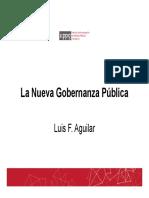 Gobernanza 2015