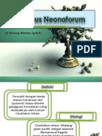 KP 3.5.3.3 - Tetanus Neonatorum Dr Rinang