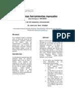Informe Lab de Maquinas y Herramientas
