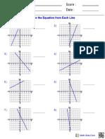 Algebra1 Func Writing Equations