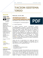 Capacitacion Sistema Acusatorio_ Interrogatorio y Contrainterrogatorio