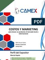 Costos y Marketing Lanzamiento de Producto 160412234541