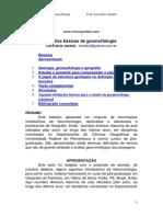 Noções básicas de geomorfologia