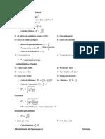 Fórmulas de Administración de Operaciones II (1).docx