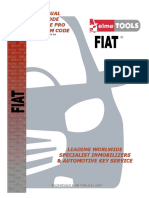Manual de Programar Llaves Fiat