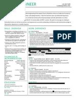 Redacted Resume