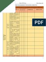 Estándares de Desempeño Profesional Directivo
