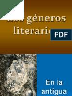 G-neros Literarios 2011