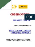 Resoluciones Sancionadoras Consentidas Firmes TCE ABRIL 2017