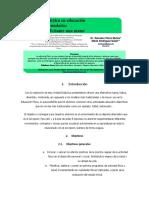 Unidad Didáctica Revista Gimnastica 3er Lapso
