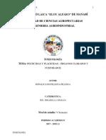 Pesticidas y Plagicidas - Órganos Clorados y Fosforados