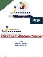 Proceso Administrativos