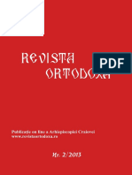 Revista Ortodoxa Nr 2