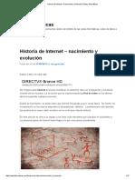 Historia de Internet - Nacimiento y Evolución _ Redes Telemáticas